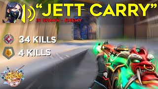 Super Dash Jett caŗries TOXIC GOLD player in an IMMORTAL game...