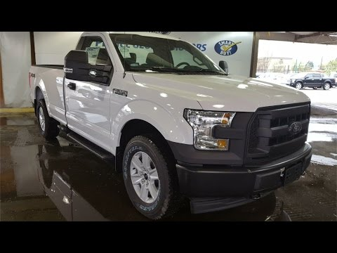 White 2017 Ford F-150 4WD REG CAB Review Prince George BC - Prince George Motors