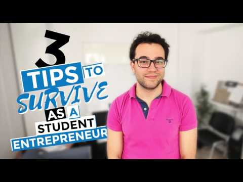 Survival tips for international students:  Student entrepreneur