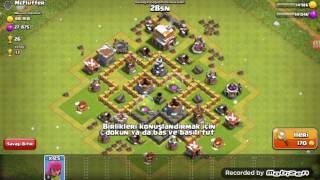 Clash of clans duvarları basıyoruz #1
