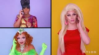 RuPaul's Drag Race :  Mean Girls (Aquaria, Miz Cracker, Vanessa Vanjie Mateo, Monét X Change)
