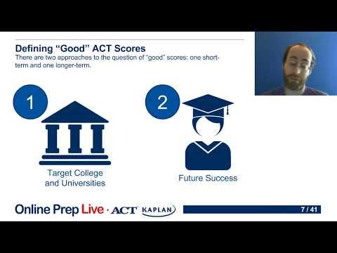 ACT Kaplan Online Prep Live - Sample Class
