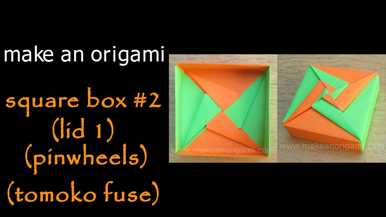 Easy Origami Box : วิธีพับกล่องมีฝาปิด โอริกามิ - YouTube | 720x1280