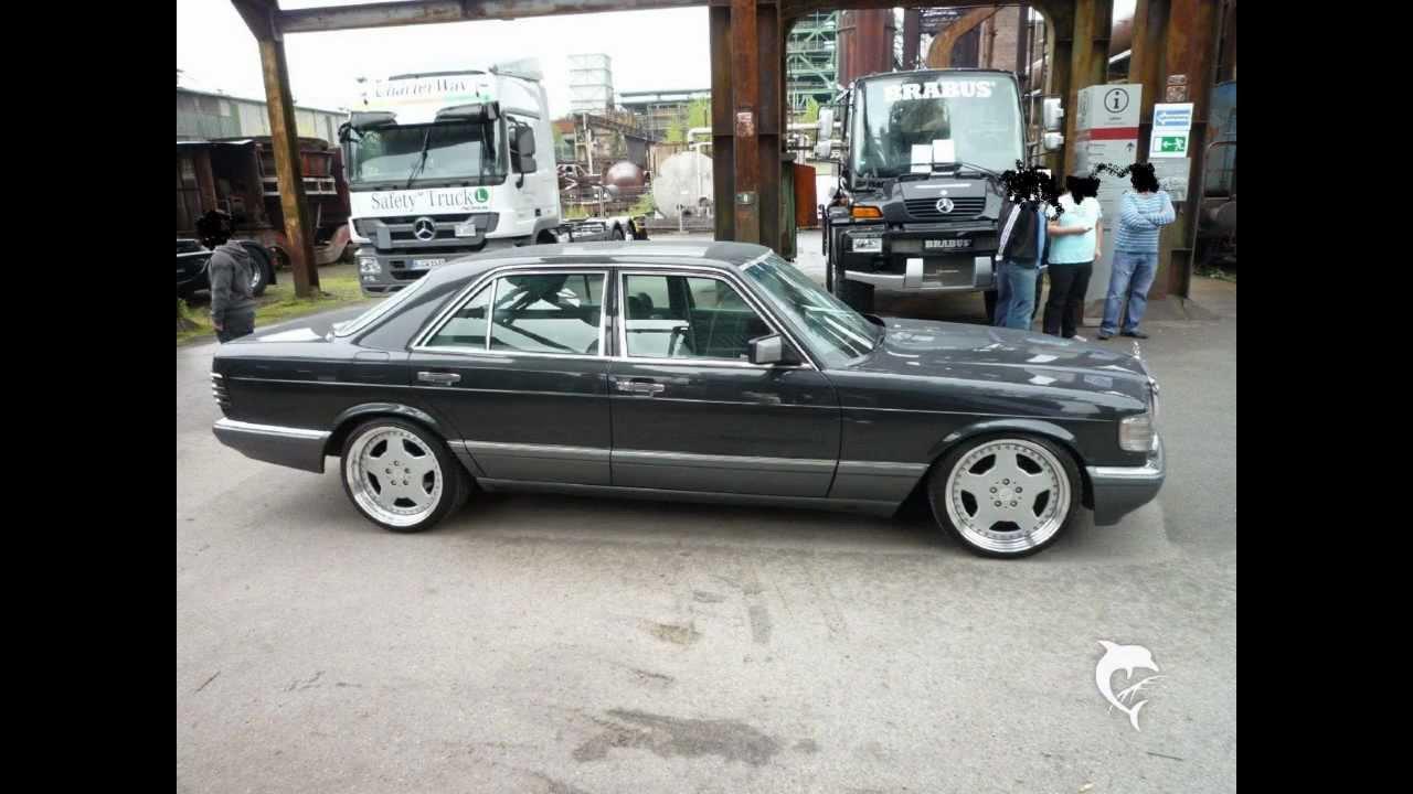 W126 500sel 560sel Mercedes Benz Youtube