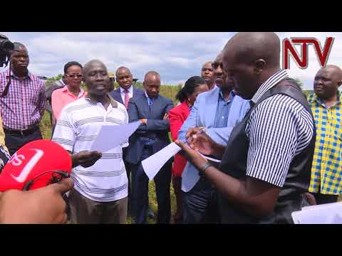 Land probe commission visits highly contested forest reserve in Kajjansi