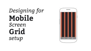 Designing Mobile View of Website - Planning Grid and guides in Photoshop