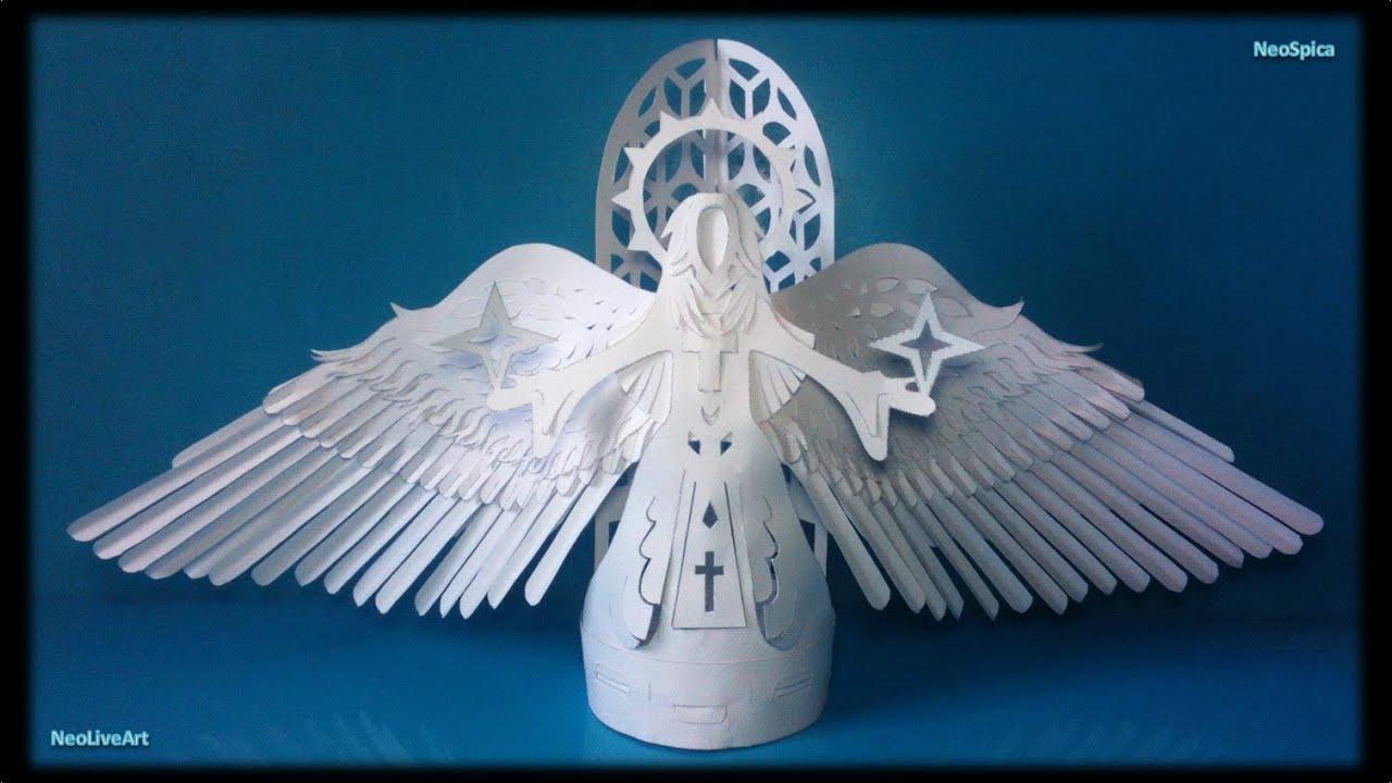 Design Angel Of Paper 2 Wings
