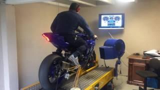 2017 R6 Power Test, AWESOME SOUND Akrapovic vs Original Exhaust