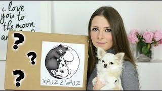 WIR PACKEN AUS! + LIVE TEST | Mauz & Wauz FEBRUAR BOX | ÜBERRASCHUNGSBOX FÜR HUNDE