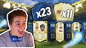I SWEAR YOU'LL NEVER SEE A PACK OPENING LIKE THIS EVER AGAIN   23 TOTYS & 11 LEGENDS - FIFA 17