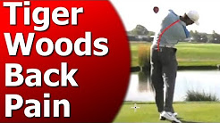 Tiger Woods Back Pain - 3 Keys to Save Your Back