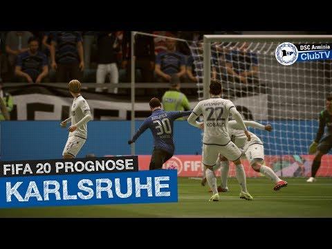 Arminia Bielefeld - Karlsruher SC (16. Spieltag) | Prognose (Fifa 20)