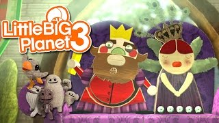 LittleBIGPlanet 3: The Journey Home [Spring Time in the Gardens] - Part 3