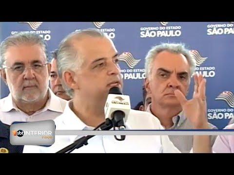 Atual governador de SP visita pela primeira vez a região de Araçatuba