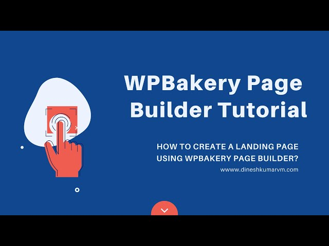 WPBakery Page Builder Tutorial | How to Create a Landing Page Using WPBakery Page Builder?