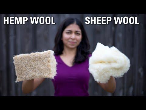 Hemp wool vs Sheep wool insulation | Everything you need to know