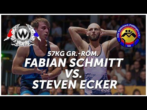 RINGEN - DMM FINALE (Rückkampf)  - 57kg Gr.-röm. - Fabian Schmitt Vs. Steven Ecker