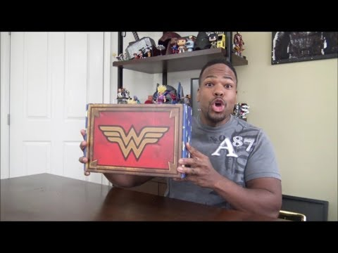 World's Finest: The Collection - The Wonder Woman Box - UNBOXING!!!