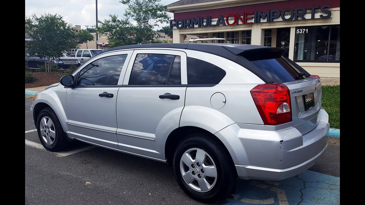 2007 Dodge Caliber Silver F7834 For Sale Formula One