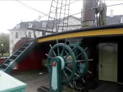 "Le navire ""Amsterdam"" : Le Musée National de la Marine. Amsterdam  HD"