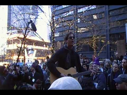Third Eye Blind Performs for Occupy Wall Street at Zuccotti Park