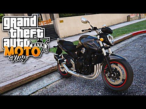GTA V Life - Role de Moto suzuki bandit MotoVlog #52