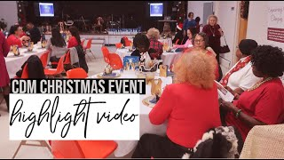 highlight video cdm Christmas Event