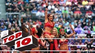 Top 10 Brie Bella Matches