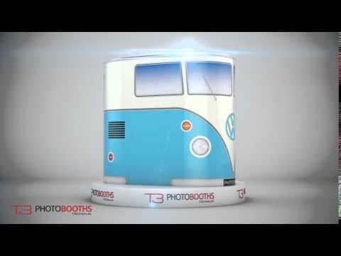 T3 VW Camper Van Skin Design Photobooth