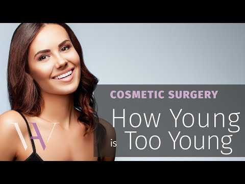 Too young for cosmetic surgery?