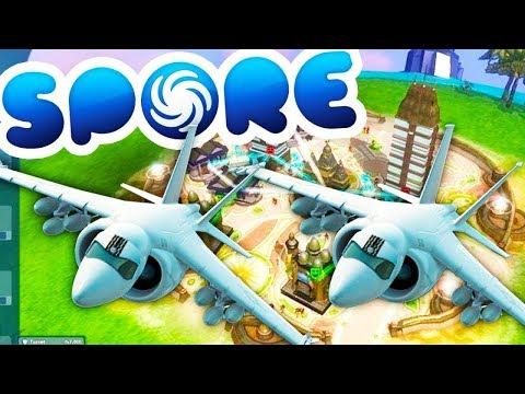 TAKE TO THE SKIES - Spore #4