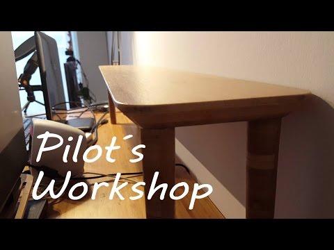 How To Make A Bamboo Desk Shelf