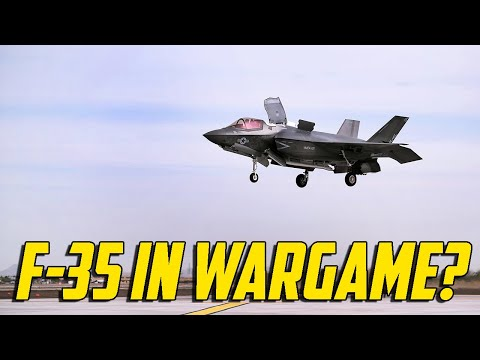 Wargame Red Dragon - F-35 In Wargame?
