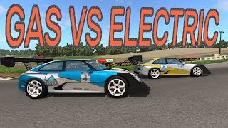GAS VS ELECTRIC - BeamNG.drive