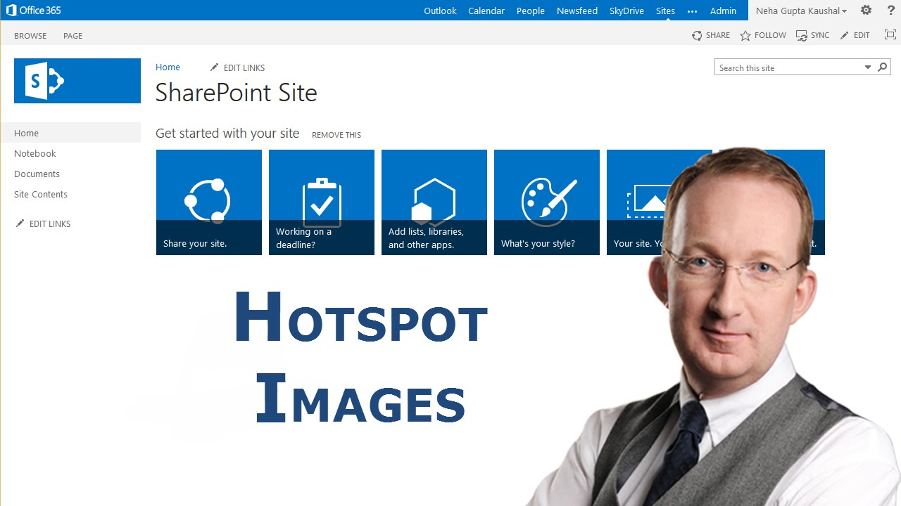 Create Sharepoint 2013 Image With Clickable Regions Youtube
