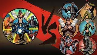 Shadow Fight 2   Слияние Vs Врата Теней