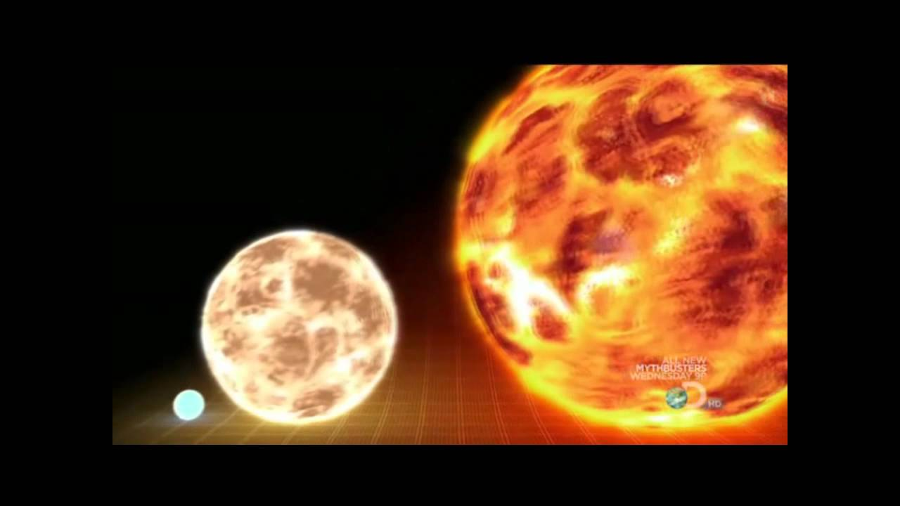 How the universe works - stars size - YouTube