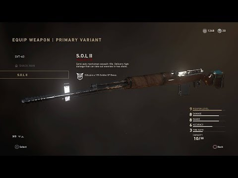 Call of Duty®: WWII SVT-40 Heroic Skin Team Deathmatch gameplay