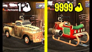 Zombie Squad! NEW CHRISTMAS UPDATE! Max Level Strong & Speed in Zombie Squad! (9999+ Level  Car!) screenshot 1