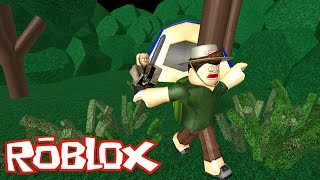 Roblox: FUJA DO JASON !! - (Escape Camp ROBLOX)