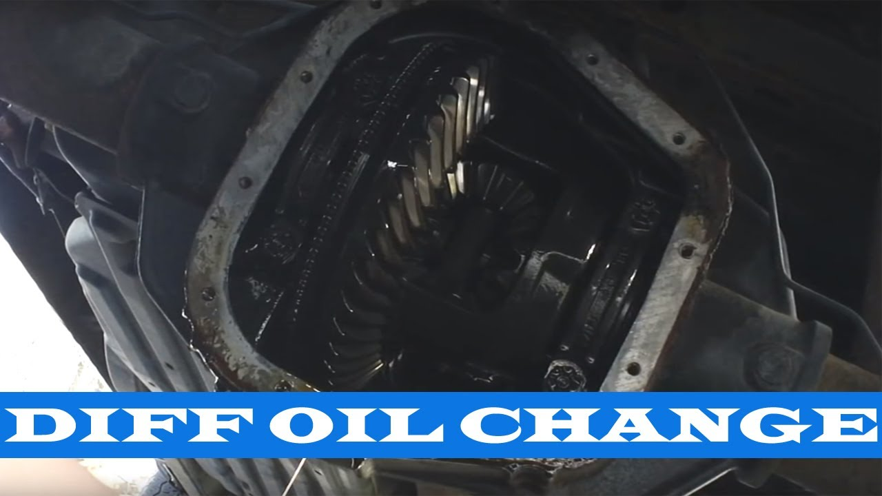Ford F 150 Rear Differential Gear Oil Change