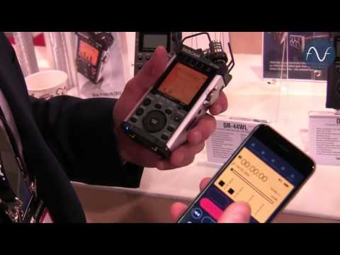 [NAMM] Tascam DR-44WL and DR-680MKll Field Recorders