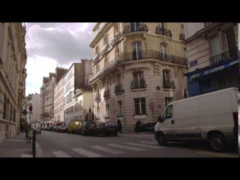 Paris, France apartment complexes.