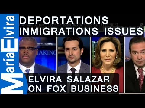 Deportations of illegal immigrants - ELVIRA SALAZAR ON FOX BUSINESS 16 FEB 20147 - Charles Payne