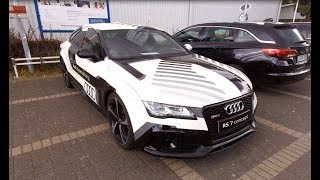 AUDI RS7 QUATTRO PILOTED DRIVING CONCEPT CAR A7 WALKAROUND