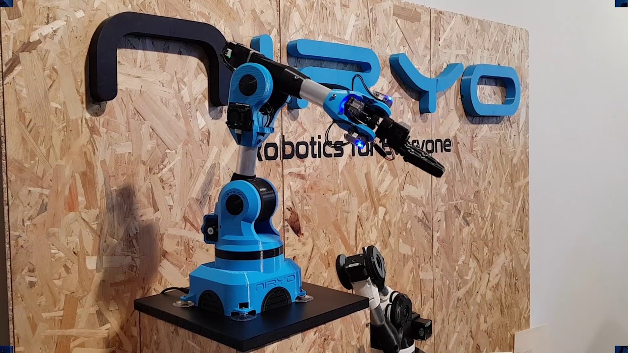 Niryo One at Lille MakerFaire - 2018