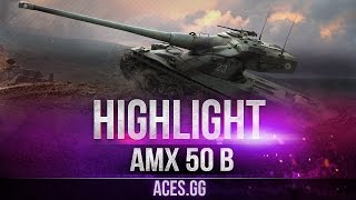 Релаксируем вместе с AMX 50B на карте Рыбацкая бухта в World of Tanks