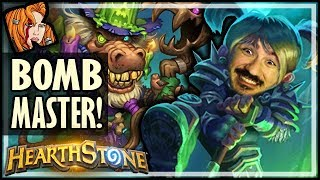 Bow To Your New Bomb Master! - Rise of Shadows Hearthstone