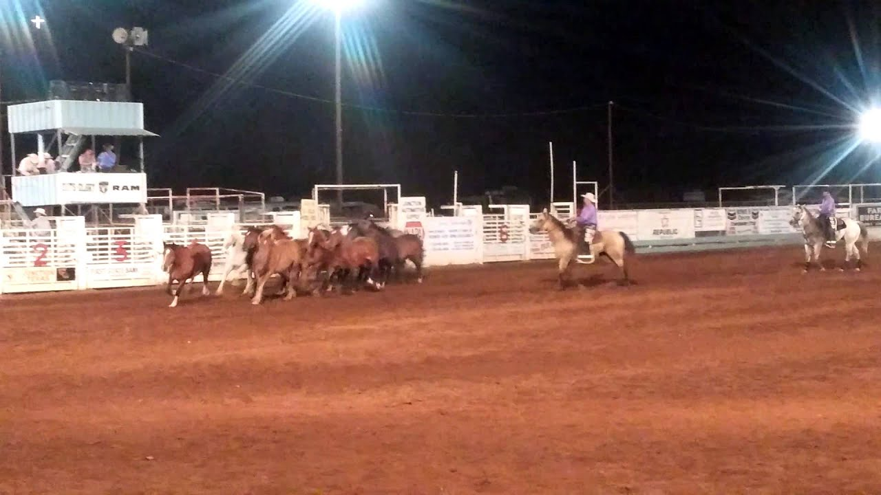 Cadillac Rodeo Bucking Stock Junction Tx 2015 Youtube