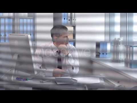 Thinking of Businessman to the Solve Complex Business Problems - Stock Footage | VideoHive 15572576